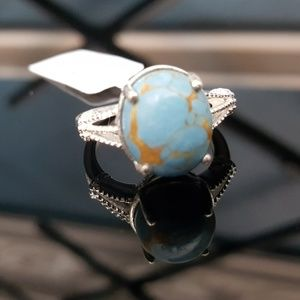 Jewelry - Mojave Blue Turquoise Cabochon